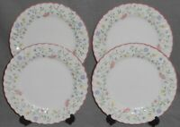 Set (4) Johnson Brothers SUMMER CHINTZ PATTERN Dinner Plates ENGLAND