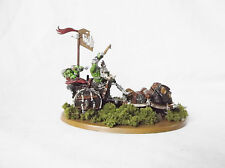 Warhammer Age of Sigmar Greenskinz Ork Boar Chariot Custom Painted by Pizzazz