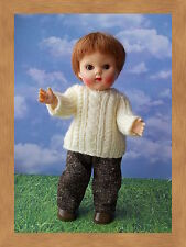 Brown Tweed pants for Vogue Ginny by Pink Heart Toggery