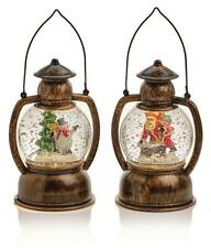 Premier Christmas Decorations 20cm Hurricane Lantern Water Spinner