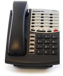 Lot of (10) Refurbished Intertel Axxess 550.8500 Basic Digital Phone (Charcoal)