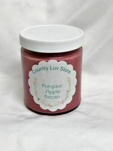 Handmade, 9 oz Pumpkin Apple Pecan Soy Wax Jar Candle