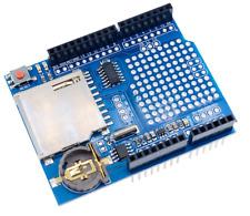 UNO Data Logger Module Logging Recorder Shield Arduino DS1307 lecteur de carte SD UK