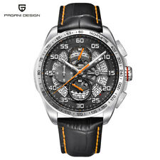 PAGANI DESIGN Date Men Army Watch Luxury Sports Leather Band Quartz Analog Gifts
