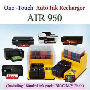 Ink Refill Machine Auto Ink Recharger HP 950 951 932 933 8600 8610 8620 8630