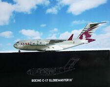 Hogan Wings 1:200 boeing c-17a Globemaster qatar air force + Herpa Wings catálogo