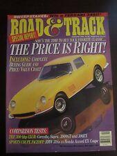 Road & Track Magazine February 1994 Classic Car Buying Guide (LL) AJ Z2