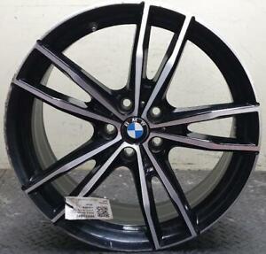 "BMW 3 SERIES G20 8JX19"" LIGHT ALLOY WHEEL STYLE 791M JET BLACK FRONT 36118089892"
