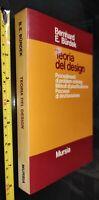 GG LIBRO: TEORIA DEL DESIGN - BERNHARD E.BURDEK - MURSIA - 1977