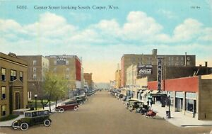 A View Of Center Street, Looking South, Casper, Wyoming WY