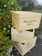 Blanchard & Lurton 6 Bottle Wooden Wine box from Argentina