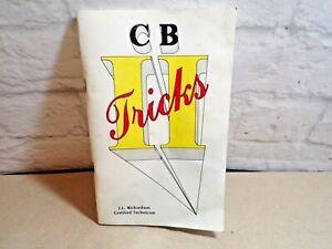 CB Tricks II Radio Manual Peaking & Tuning J.L. Richardson 1989