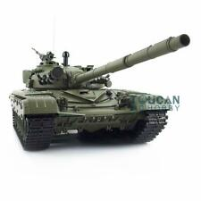 Henglong 1/16 6.0 Plastic Russia T72 RTR RC Tank 3939 W/ 360° Turret Red Eyes
