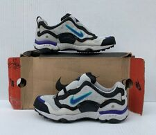 Vintage Nike Women's Air Terra Kimbka Grey/Purple/Green Size 10 105113-041