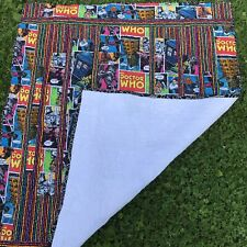 Handmade Dr Who Throw Quilt