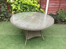 More details for rattan garden furniture set sofa chairs table conservatory outdoor patio
