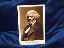 FREDERICK DOUGLASS Abolitionist Cabinet Card Photograph Vintage History Slavery