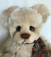 "OOAK Show Piece Artist Bear by Donna Hager for Hager Bears ""Barley"" 16 inches"