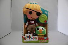 """LALALOOPSY PATCH TREASURECHEST WITH PET PARROT 10"""" PLUSH SOFT DOLL  CUTE NEW"""