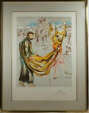 """Salvador Dali - """"The Kingdom"""" LE, Hand Coloured Etching - Hand Signed"""
