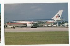 American Airlines Airbus A300-605R Aviation Postcard, A658