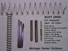 Wolff SPRING KIT for Colt Commander Pistol Super .38 - 8 Pak w/ Mag Spring 69092