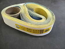 """Klingspor LS312JF Abrasive Belts 50x1525mm (2""""x60"""") Grit 100 (Pack of 25)"""