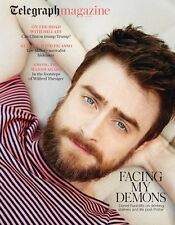 Harry Potter DANIEL RADCLIFFE PHOTO COVER INTERVIEW UK TELEGRAPH MAGAZINE 2016