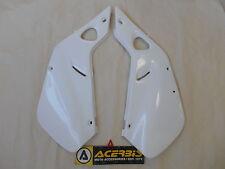 PLAQUE PROTECTION LATERAL ACERBIS BLANC MOTO HONDA CR 125 / 250