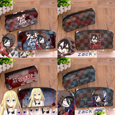 Angels of Death Ray Zack Pen Bag Pencil Case Cosmetic Bag Canvas Cosplay Gift