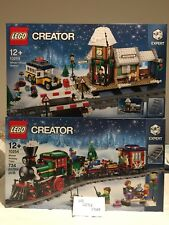 Lego 10254 10259 Winter Holiday Train & Train Station *NEW* @5% off P5OFF@