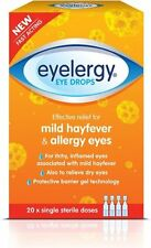 Eyelergy Eye Drops for Allergy and Hayfever Relief