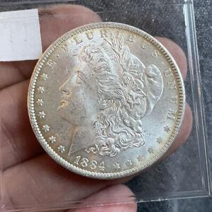 US Morgan Dollar 1884 O Beautiful UNC