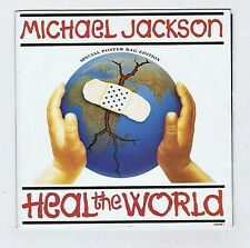 45 RPM 7'' MICHAEL JACKSON HEAL THE WORLD (SPECIAL POSTER BAG EDITION)