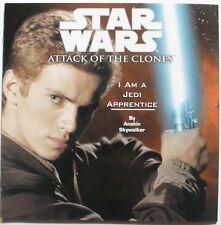 Star Wars Attack of the Clones, I am a Jedi apprentice picture book, brand new
