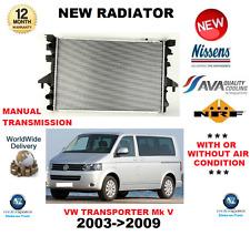 Per VW TRANSPORTER Mk V Autobus RADIATORE 2003 - > 2009 1.9 TDI 2.0 3.2 V6 4 Motion