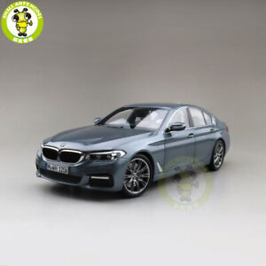 1/18 BMW 5 Series G30 Diecast Model Car Toys gifts Gray
