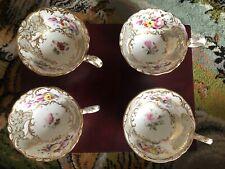 More details for antique coalport tea cups and saucers
