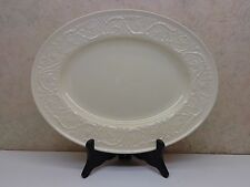 "Vintage Wedgwood Plain Patrician 14""x10 3/4""  Oval Serving Platter Plate VgC"