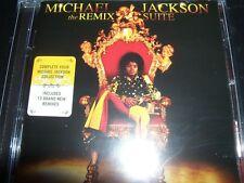 Michael Jackson The Remix Suite (Australia) Remixes CD - New (Not Sealed)