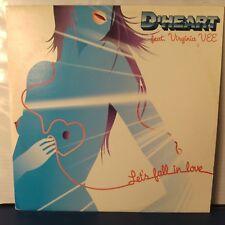 "D'Heart Ft. Virginia Vee – Let's Fall In Love (Vinyl 12"", Maxi 33 Tours, Promo)"