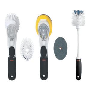 oxo 5-piece kitchen brush & scrub set