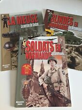 LOT GUIDE HISTOIRE & COLLECTIONS SOLDATS NORMANDIE PERCÉE SEDAN no HEIMDAL