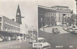 Postcard Bolton New Shopping Centre & Civic Centre RP by Bamforth Ref BA67