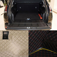 PU Leather Rear Trunk Cargo Liner Protector Mat Seat Back Cover For Peugeot 3008