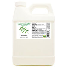 32 fl oz Neem Essential Oil (100% Pure & Natural) Plastic Jug