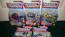 Optimus Prime Rodimus Bumblebee Ratchet Jazz Deluxe Animated Transformers Hasbro