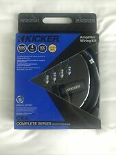 NEW IN BOX KICKER 46CK4 Car Audio 4 Gauge Mono Amplifier Install Kit