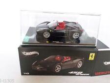 Véhicules miniatures noirs Hot Wheels pour Ferrari