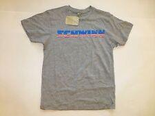 New Gray Schwinn T Shirt Light Weight Womens MEDIUM w/ Red White Blue Patriotic